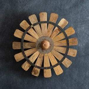 Wooden Windmill Wall Decor - Countryside Home Decor
