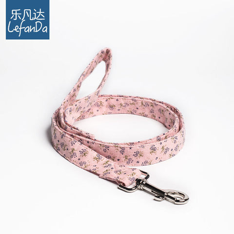 Cotton fashion leash (S)