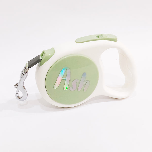 Automatic leash (Personalised name)