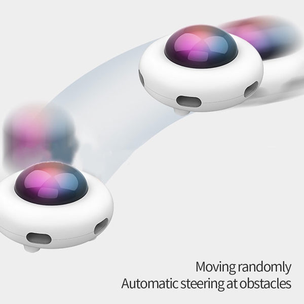 Smart UFO hide and seek auto toy