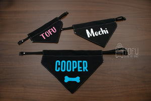 Personalised Bandana (NEW NAME COLOUR)