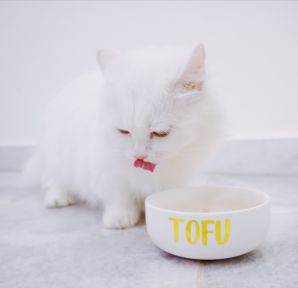 White small ceramic bowl (Personalised name)