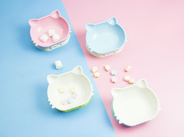 Kitty flat high bowl 2 ways