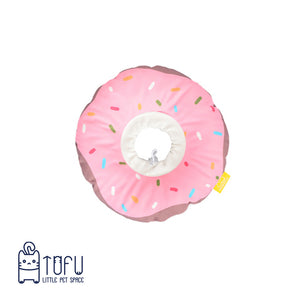 Donut e-collar semi waterproof