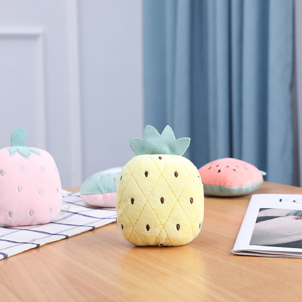 Fruity pastel plush toy