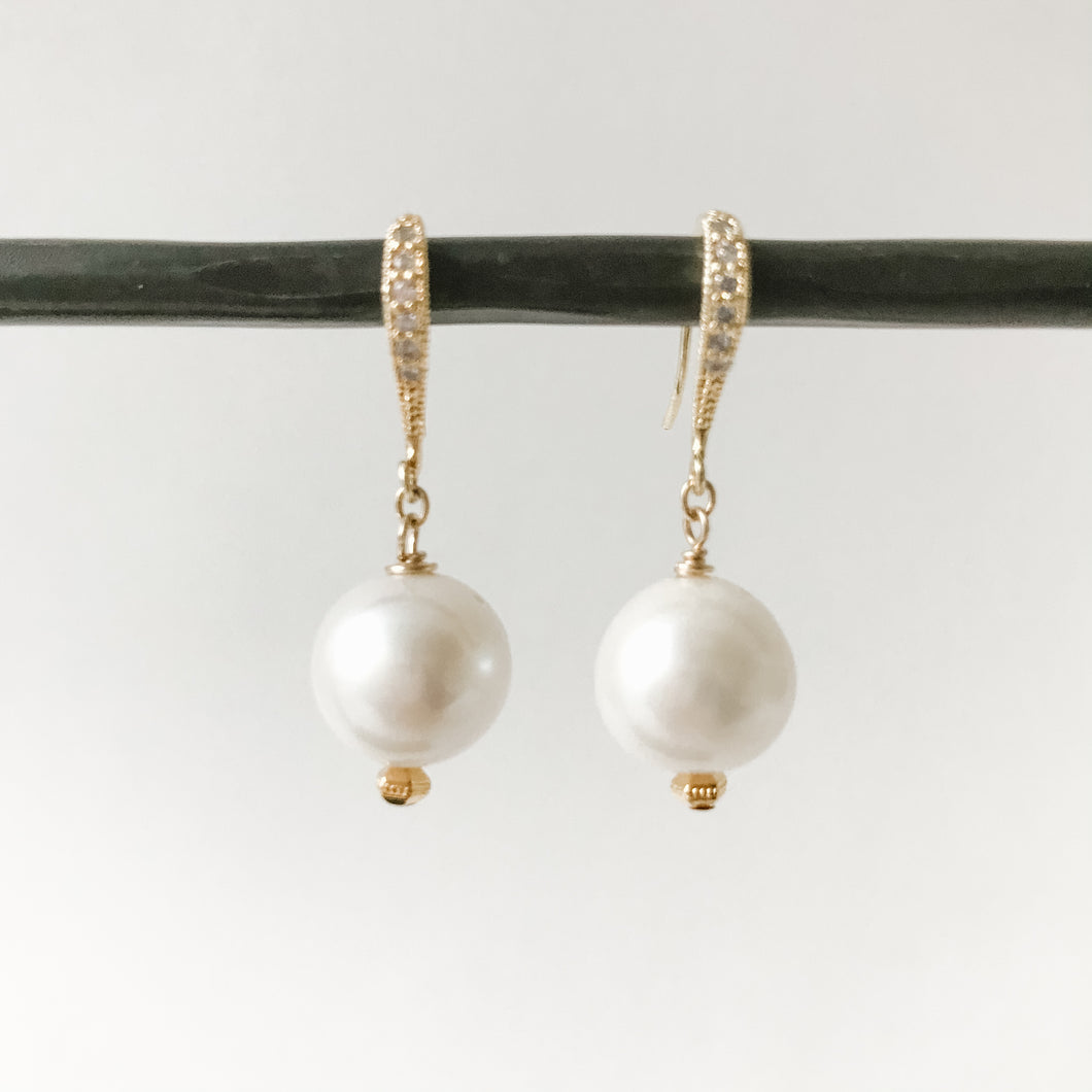 Pearls and Gold Earring