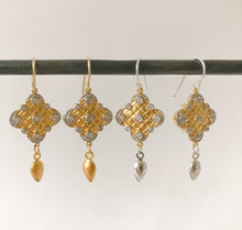 Load image into Gallery viewer, Persian Gold Earring - Sterling Option