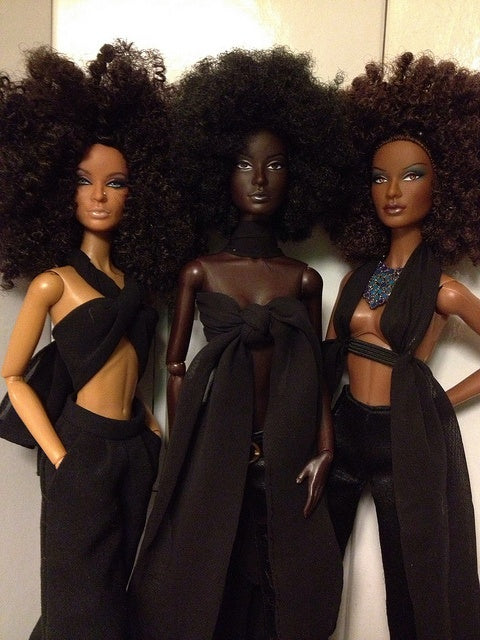 Afro hair Barbie
