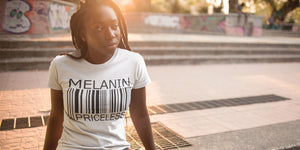 Melanin Priceless T-shirt by Swagtastic Gear
