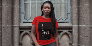 self love Africa t-shirt by swagtastic gear