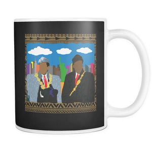African Kings in NYC | Mug-Drinkware-Swagtastic Gear