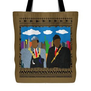African Kings in NYC | Tote Bag-Tote Bags-Swagtastic Gear