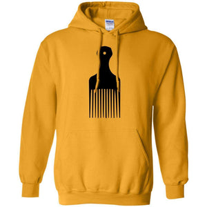 Afro Pick- Natural Hair | Sweatshirt or Hoodie-Apparel-Swagtastic Gear