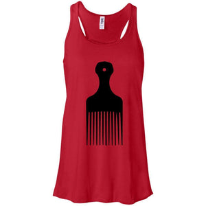 Afro Pick- Natural Hair | Tank Top-Apparel-Swagtastic Gear