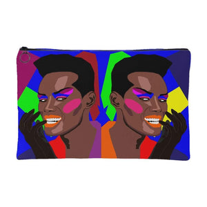 Amazing Grace | Small Cosmetic Bag or Large Clutch-Accessory Pouches-Swagtastic Gear