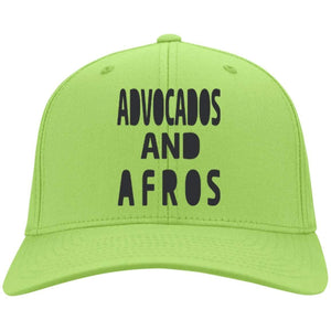 Avocados and Afros | Twill Cap-Apparel-Swagtastic Gear