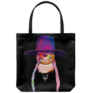 Beyonce Conversation Mosiac | Tote-Tote Bags-Swagtastic Gear