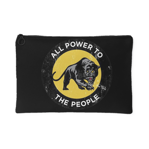 Black Panther Party, 1966 | Small Cosmetic Bag or Large Clutch-Accessory Pouches-Swagtastic Gear