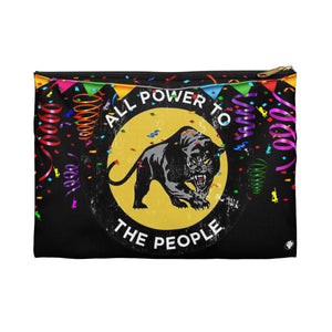 Black Panther PARTY | Small Cosmetic Bag or Large Clutch-Bags-Swagtastic Gear