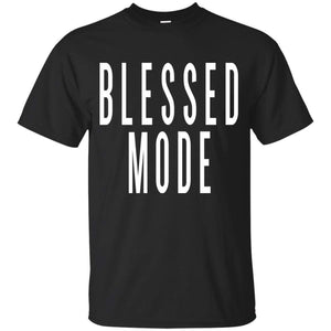 BLESSED MODE | Youth Tee-T-Shirts-Swagtastic Gear