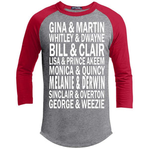 Couples We Love | 3/4 Sleeve Raglan Tee-Apparel-Swagtastic Gear