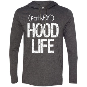 (father)HOOD LIFE | T-shirt Hoodie-Apparel-Swagtastic Gear