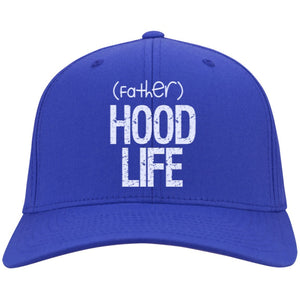 (father)HOOD LIFE | Twill Cap-Apparel-Swagtastic Gear