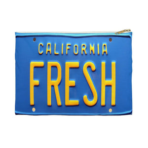 FRESH Prince License Plate | Small Cosmetic Bag or Large Clutch-Bags-Swagtastic Gear