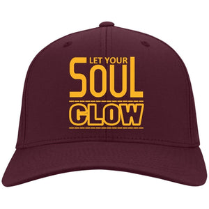 Let Your SOUL GLOW | Twill Cap-Apparel-Swagtastic Gear