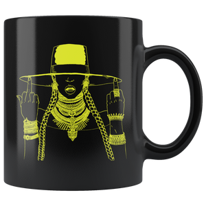 Middle Fingers Up -Beyonce | Mug-Drinkware-Swagtastic Gear