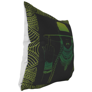 Middle Fingers Up -Beyonce | Pillow (Insert Included!)- LEMONADE-Pillows Multi-Swagtastic Gear