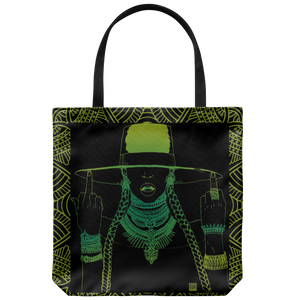 Middle Fingers Up -Beyonce | Tote-Tote Bags-Swagtastic Gear