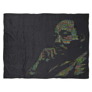 MLK's I Have a Dream: Fleece Blanket-Blankets-Swagtastic Gear