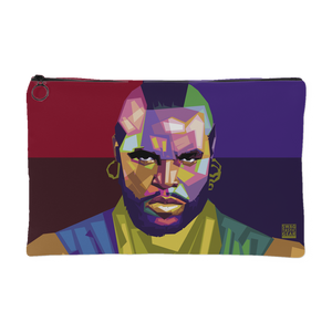 Mr T. - I Pity the Fool Mosaic | Small Cosmetic Bag or Large Clutch-Accessory Pouches-Swagtastic Gear