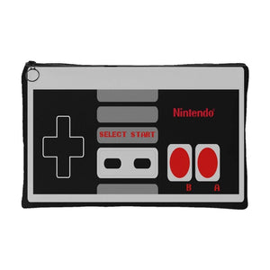 Nintendo Controller | Small Cosmetic Bag or Large Clutch-Accessory Pouches-Swagtastic Gear