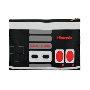 Nintendo Controller | Small Cosmetic Bag or Large Clutch-Bags-Swagtastic Gear