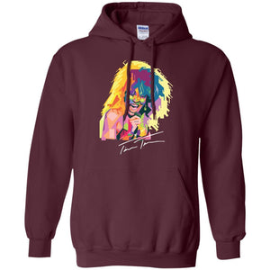 Tina Turner Mosaic | Sweatshirt or Hoodie-Apparel-Swagtastic Gear