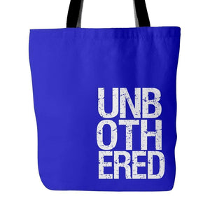 UNBOTHERED | Tote Bag-Tote Bags-Swagtastic Gear