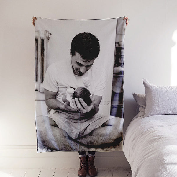 Bespoke Favourite Photo Luxury Blanket
