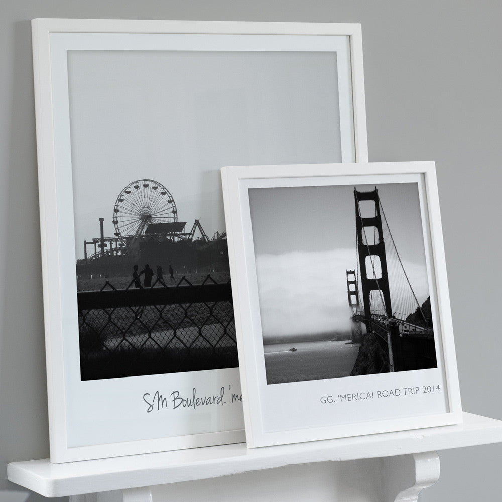 Personalised Giant Polaroid Style Photo Print – The Drifting Bear Co.