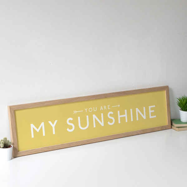 'You are my Sunshine' Personalised Print