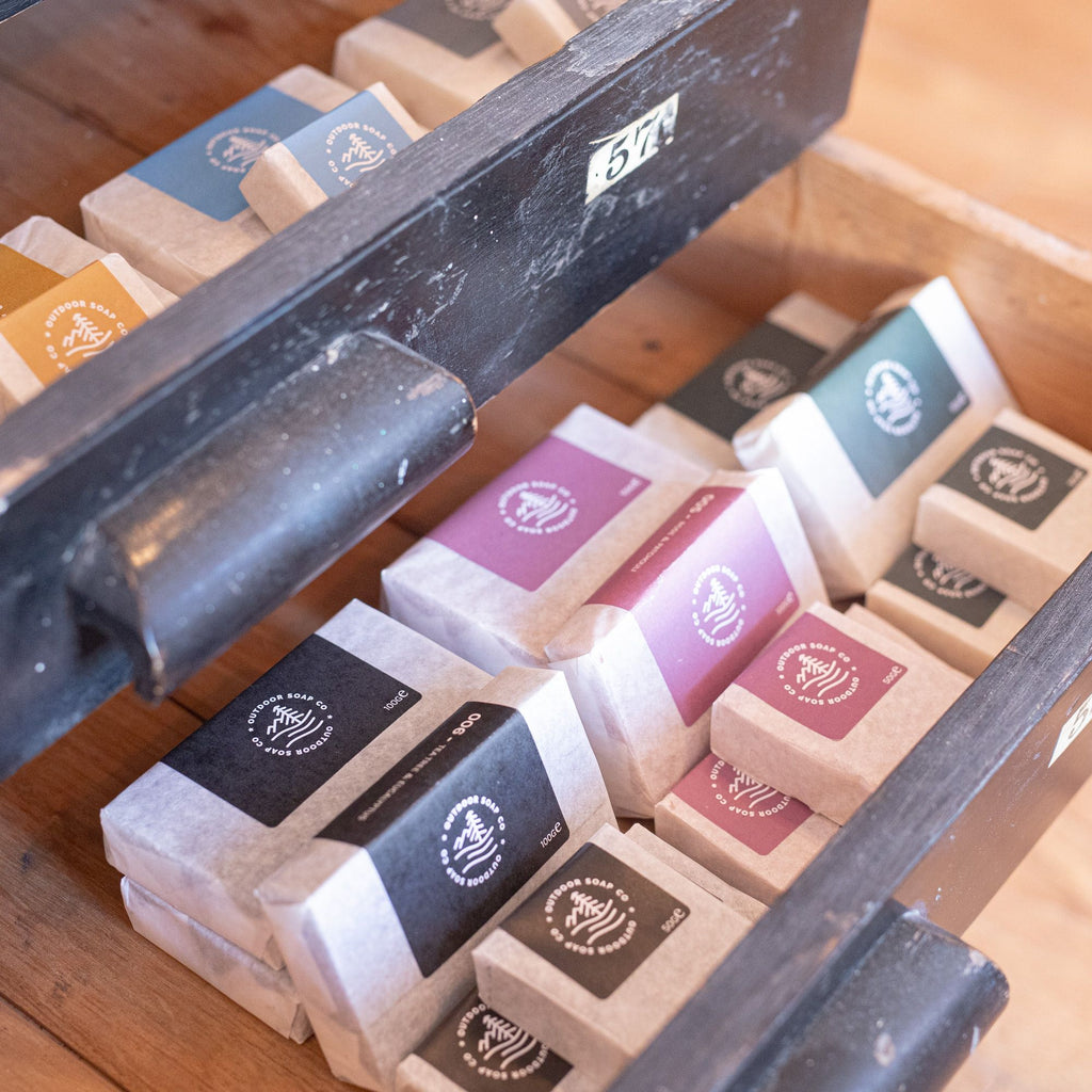 100% Natural Soap Bars - Outdoor Soap Co.