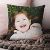 'A Hug Across the Miles' Personalised Locations Cushion with Photo
