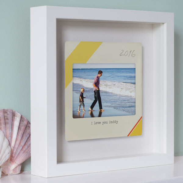 Floating Metal Slide Personalised Photo