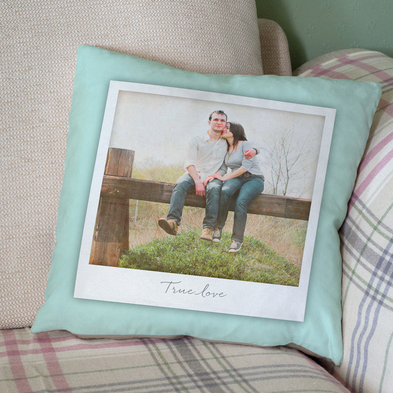 Personalised Giant Polaroid Style Photo Cushion
