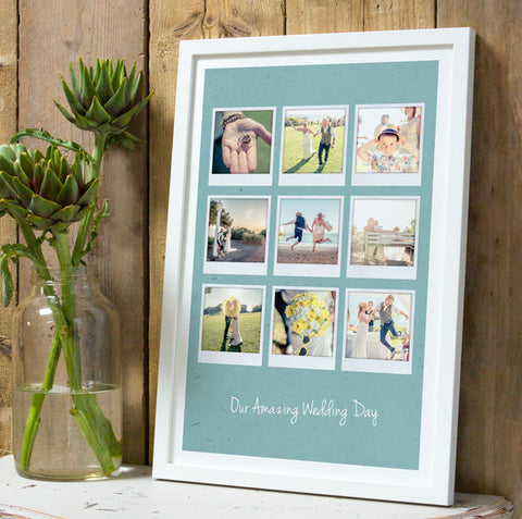 Personalised Polaroids Album Print