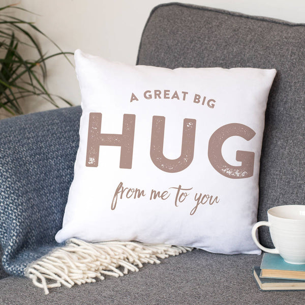 'A Hug From Me To You' Cushion