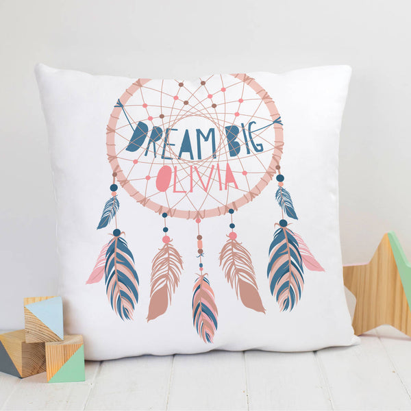 Dream Big Dreamcatcher Child's Nursery Cushion