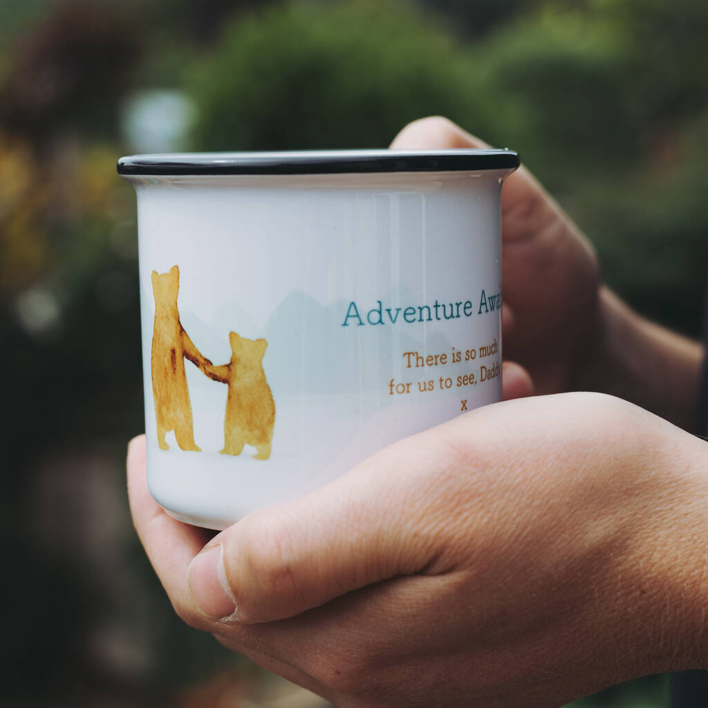 Father And Child 'Adventure Awaits' Mug