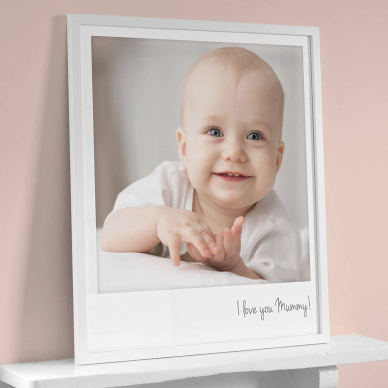 Personalised Giant Polaroid Style Photo Print